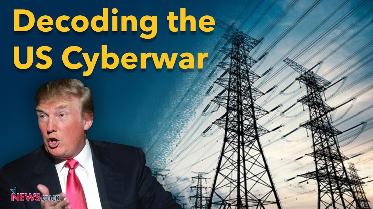 US cyberwar Russia