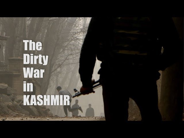 dirty war in kashmir