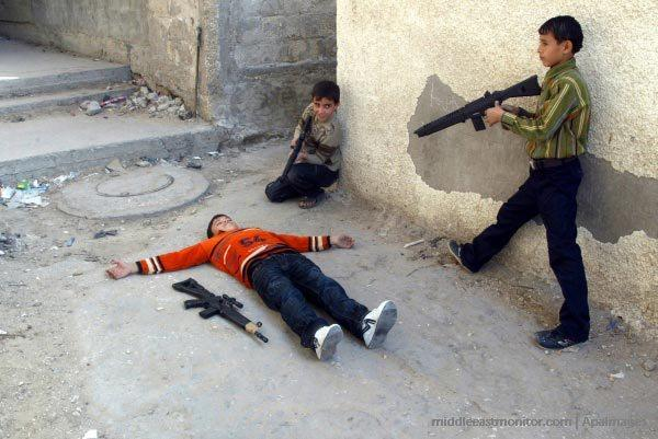 Palestinian childrn killed by israeli forces