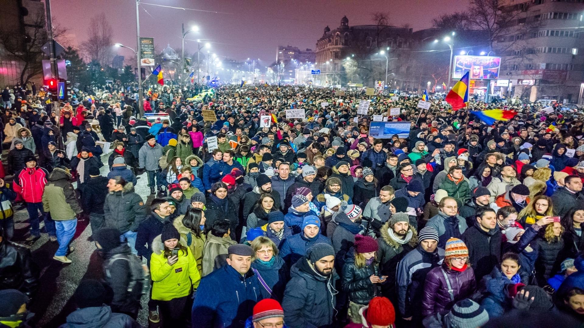 romania-protests