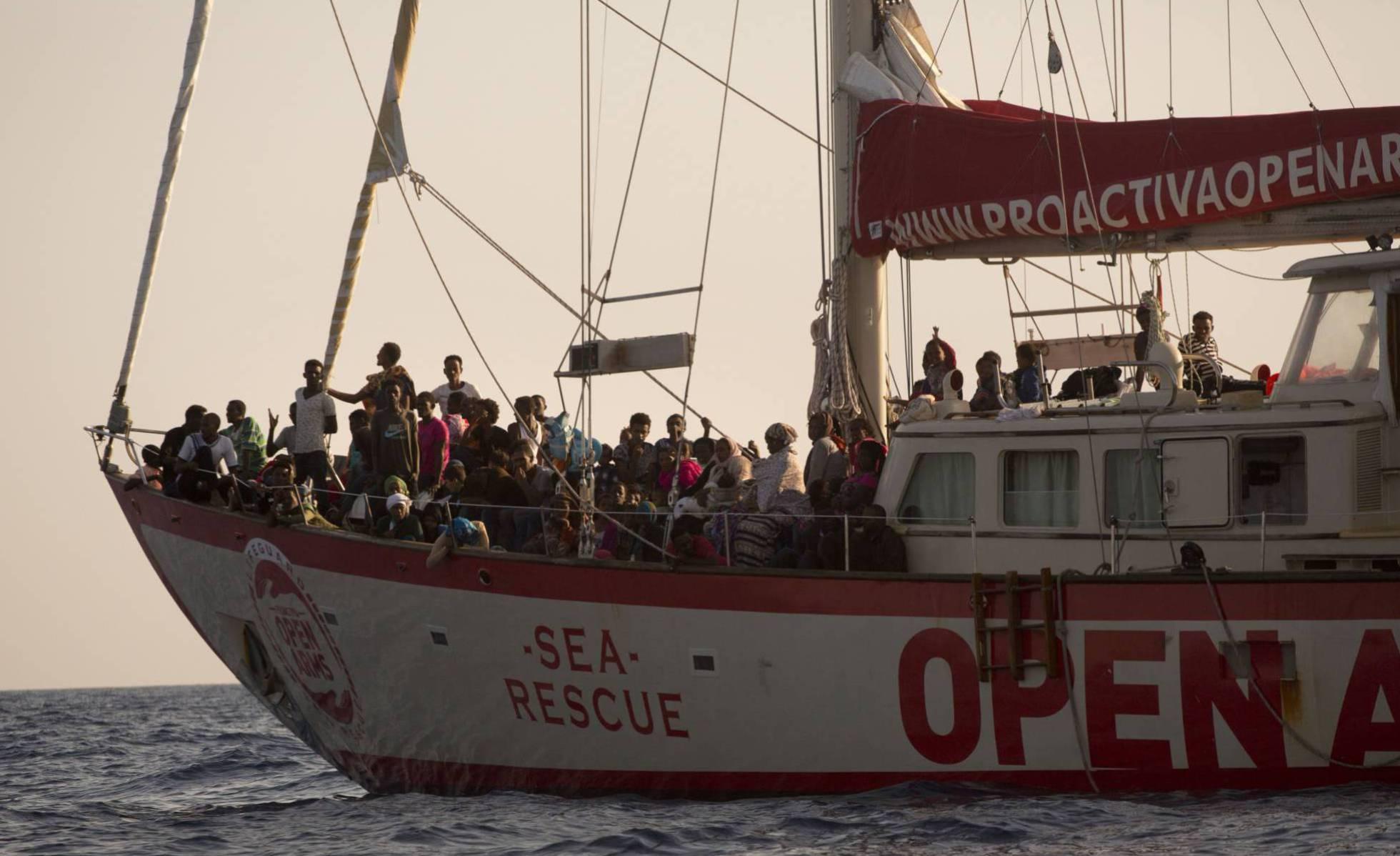 Rescue ship-Spain