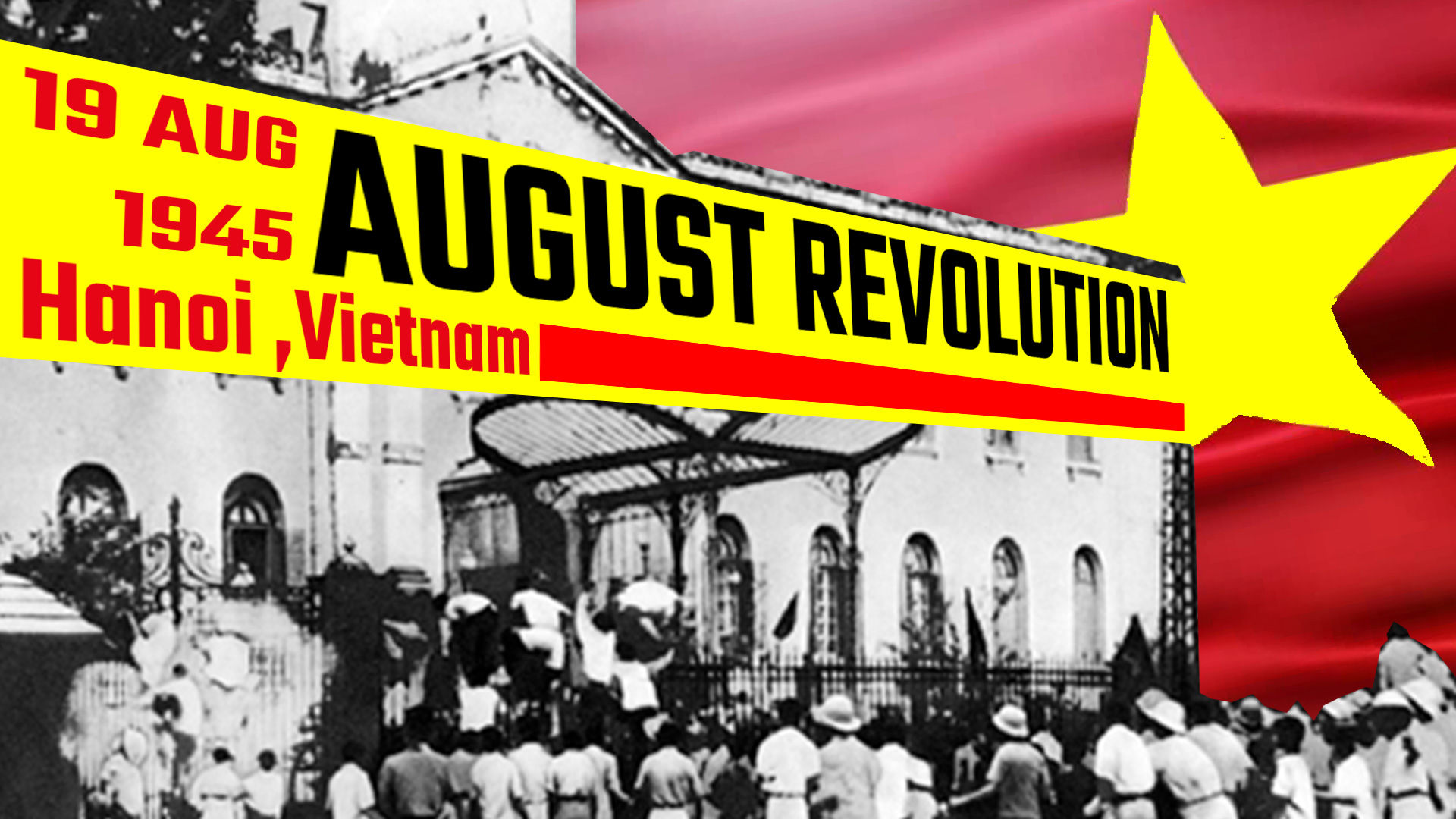 August revolution hanoi, vietnam_Aug19
