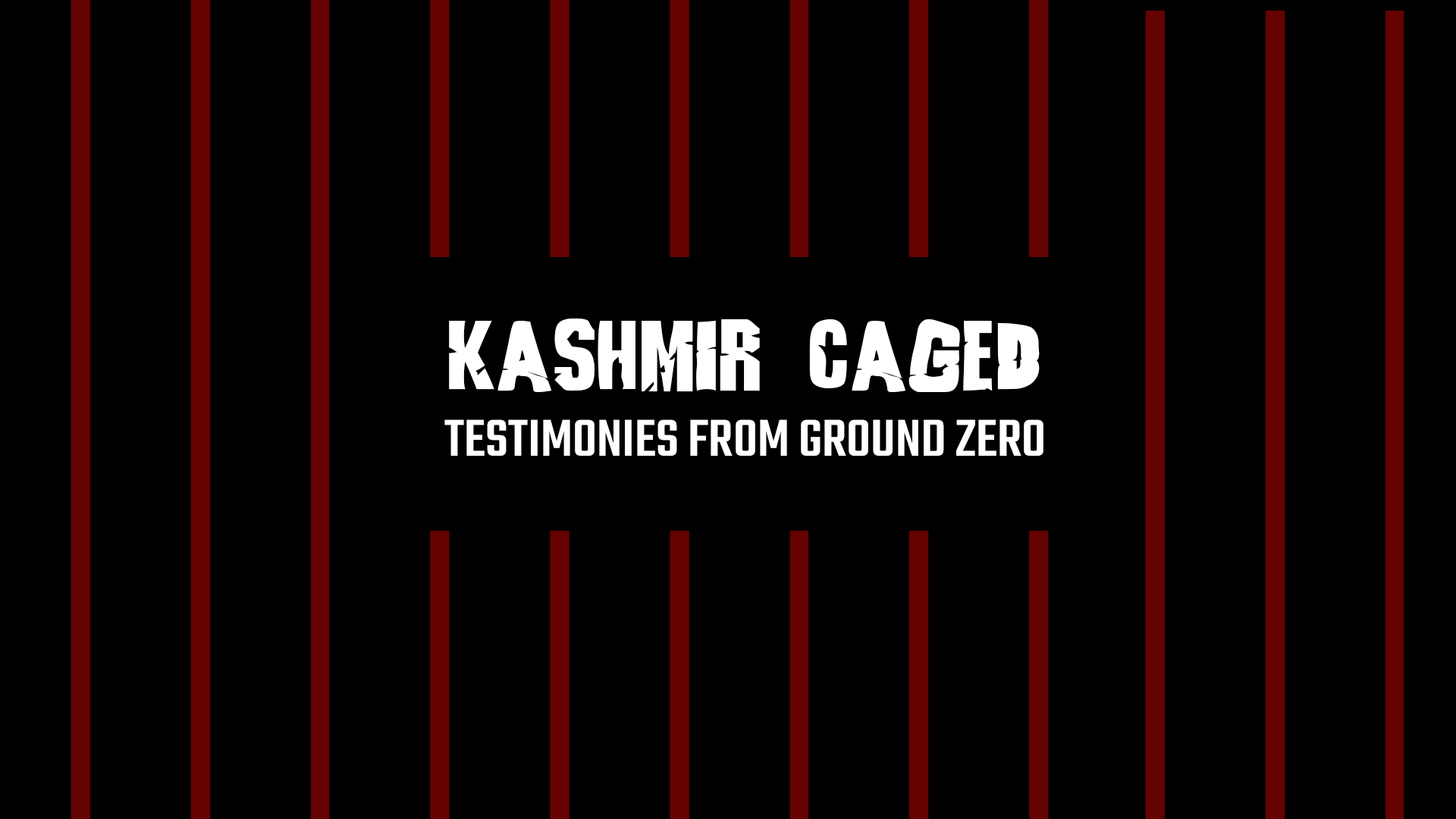 Kashmir Caged_Testimonies from Ground Zero