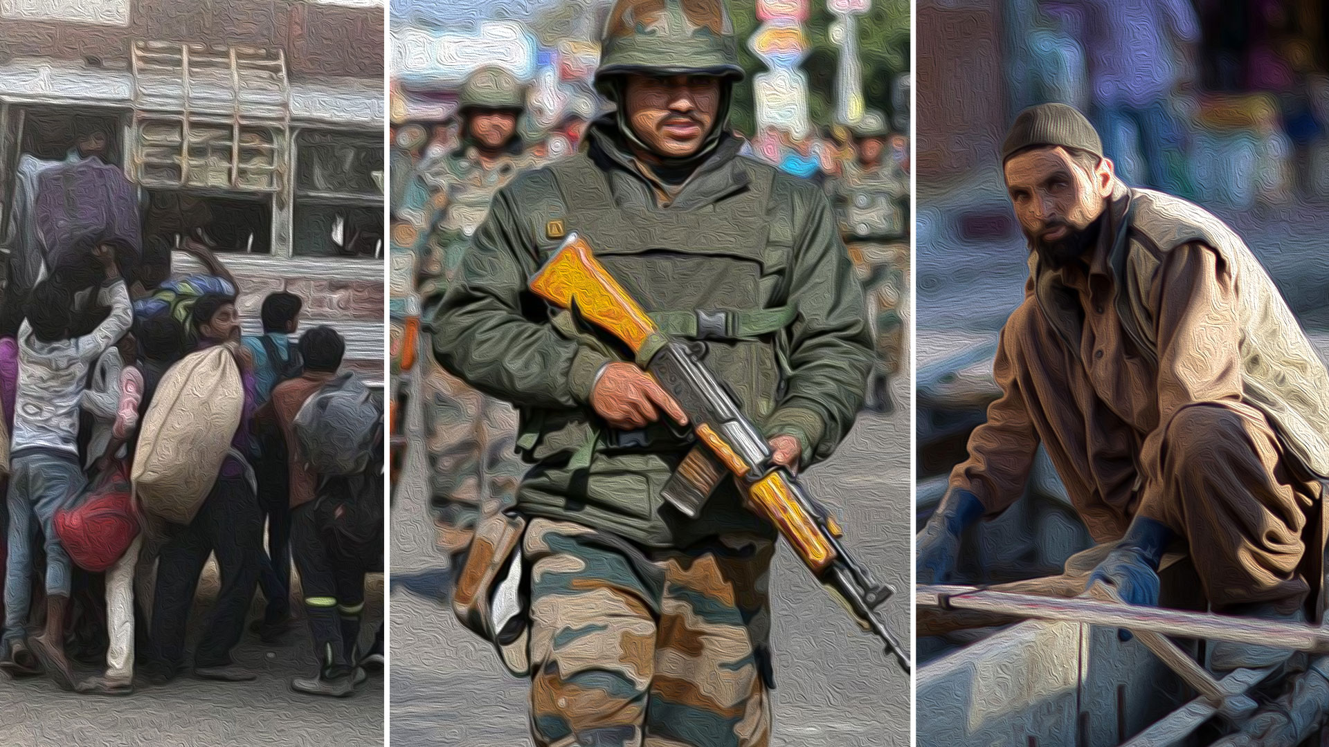 Kashmir workers under military siege and without Article 370