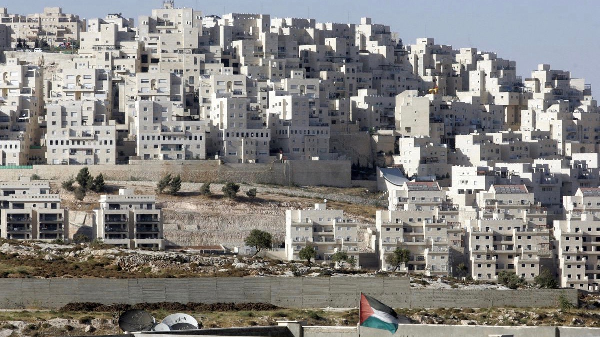 israeli settlements west bank