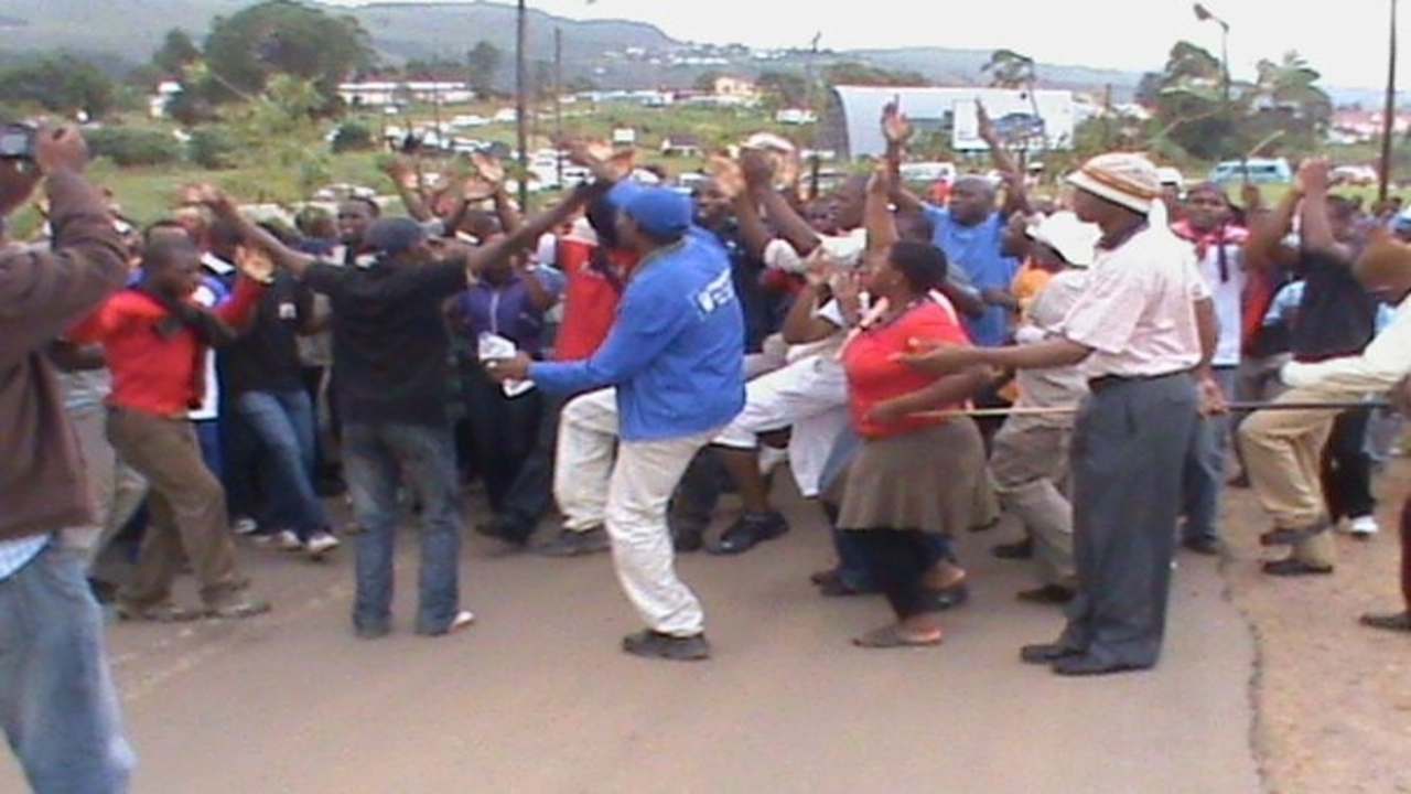 swaziland students protest