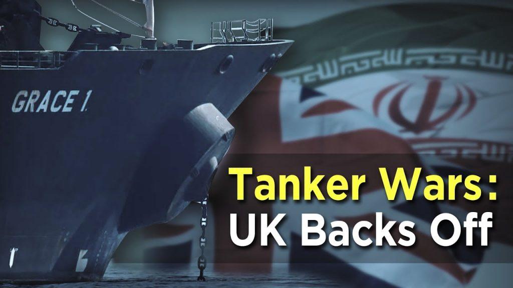 uk iran tanker wars