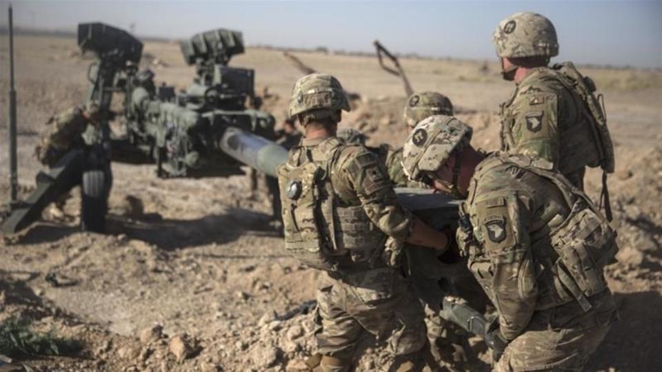 US troops in Afghanistan