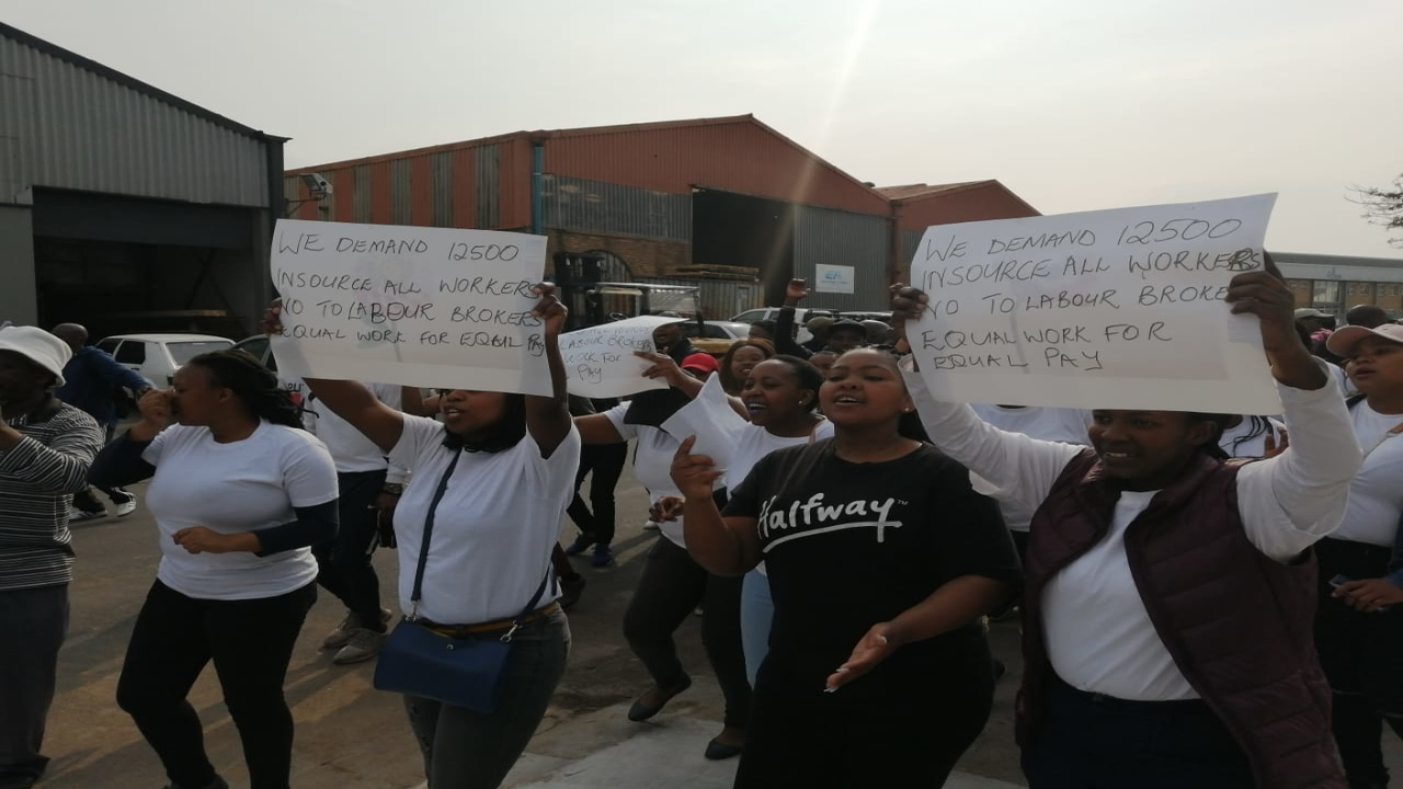 Transpharm Workers in Cape Town join strike over wage hike