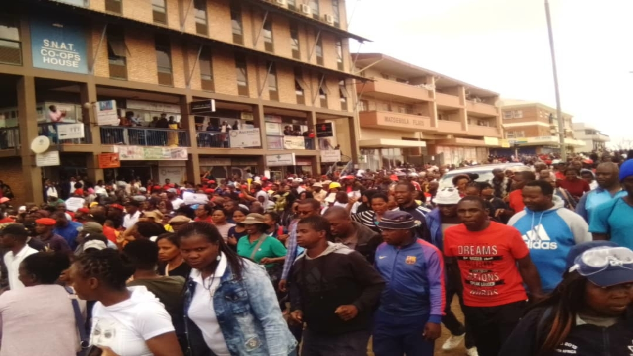 Trade unions in Swaziland prepare for next stage of strike