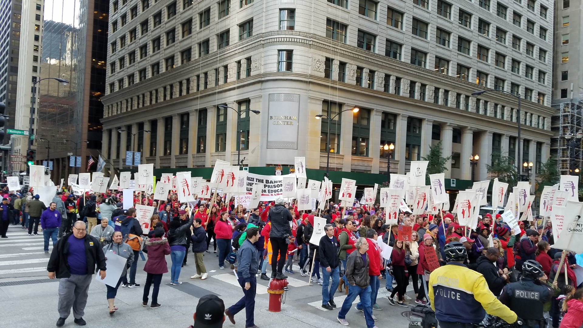 Over 30,000 teachers, support staff strike in Chicago seeking fairer education system