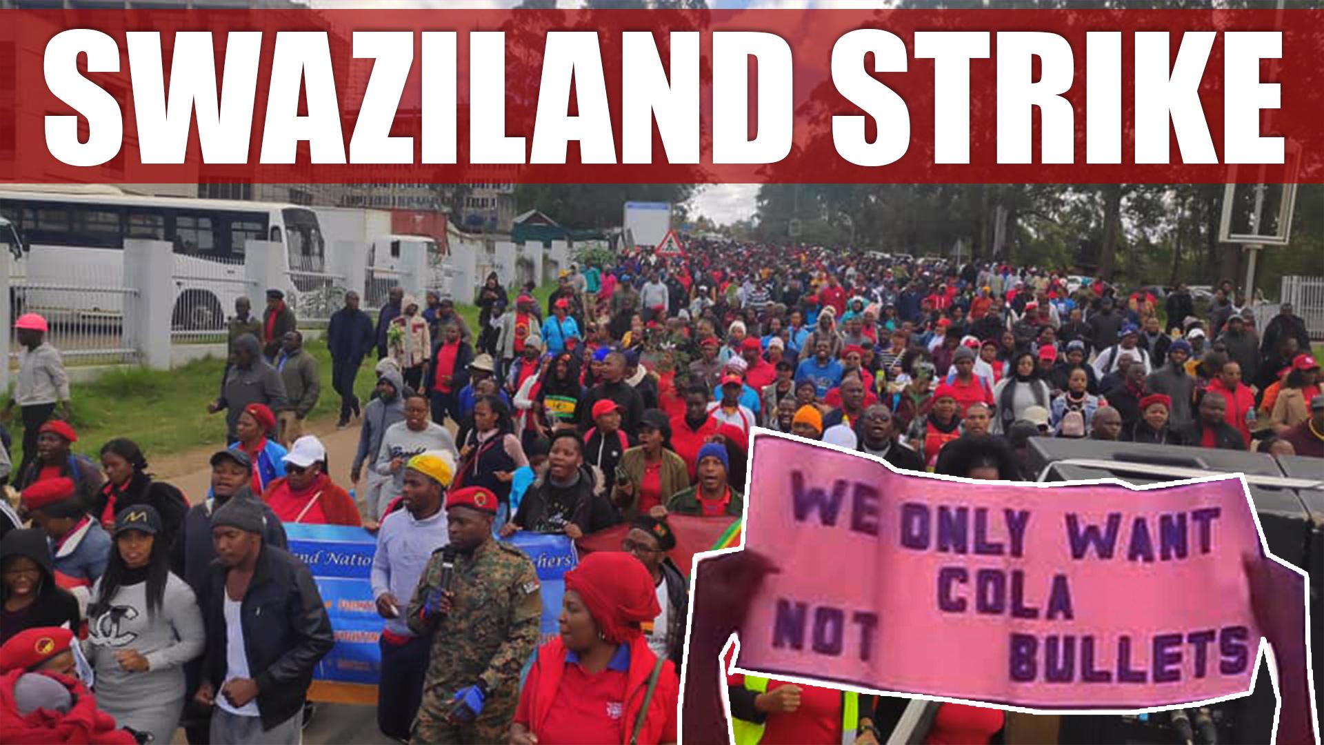 Swaziland strike