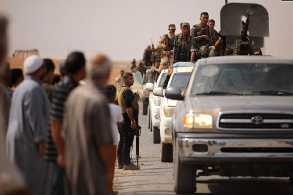 Turkey invades Syria