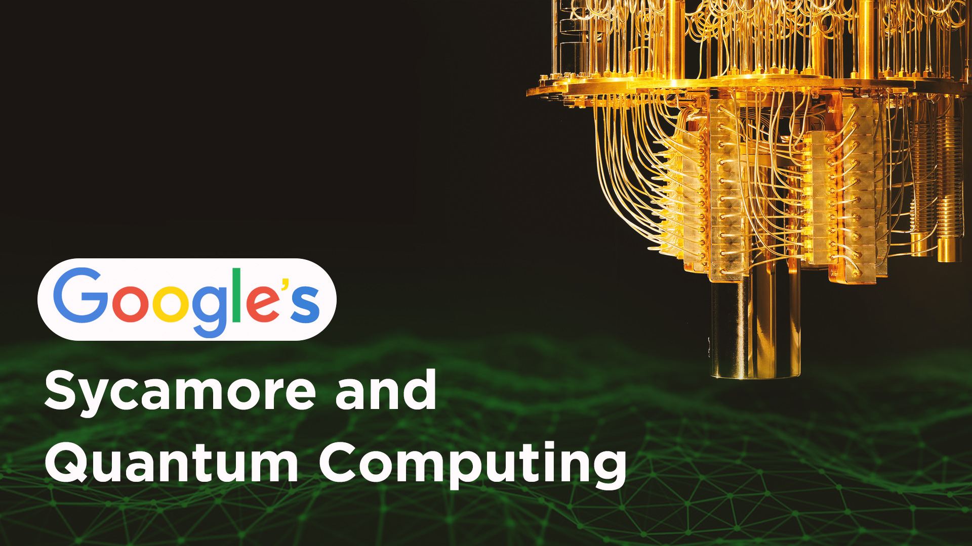 google quantum computer sycamore