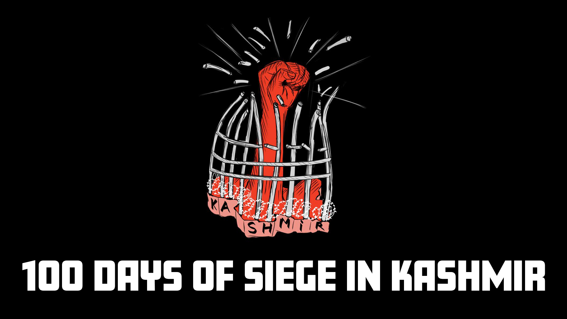100 DAYS OF SIEGE IN KASHMIR