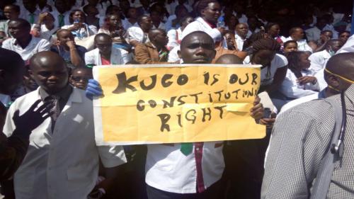 Kenya health workers strike