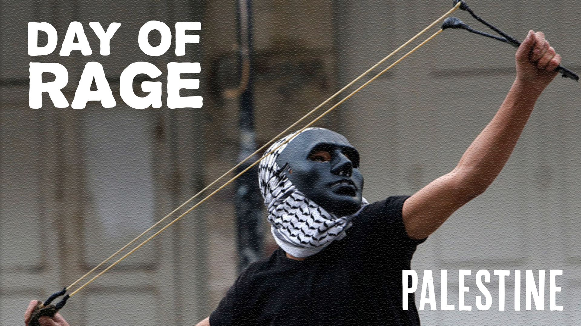 Day of rage_Palestine