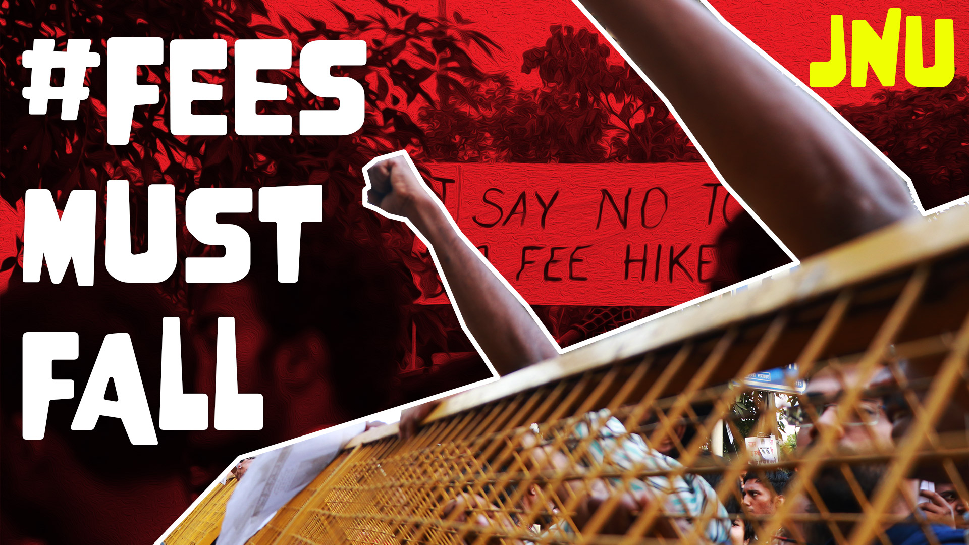 #FeesMustFall, JNU protest against fee hike