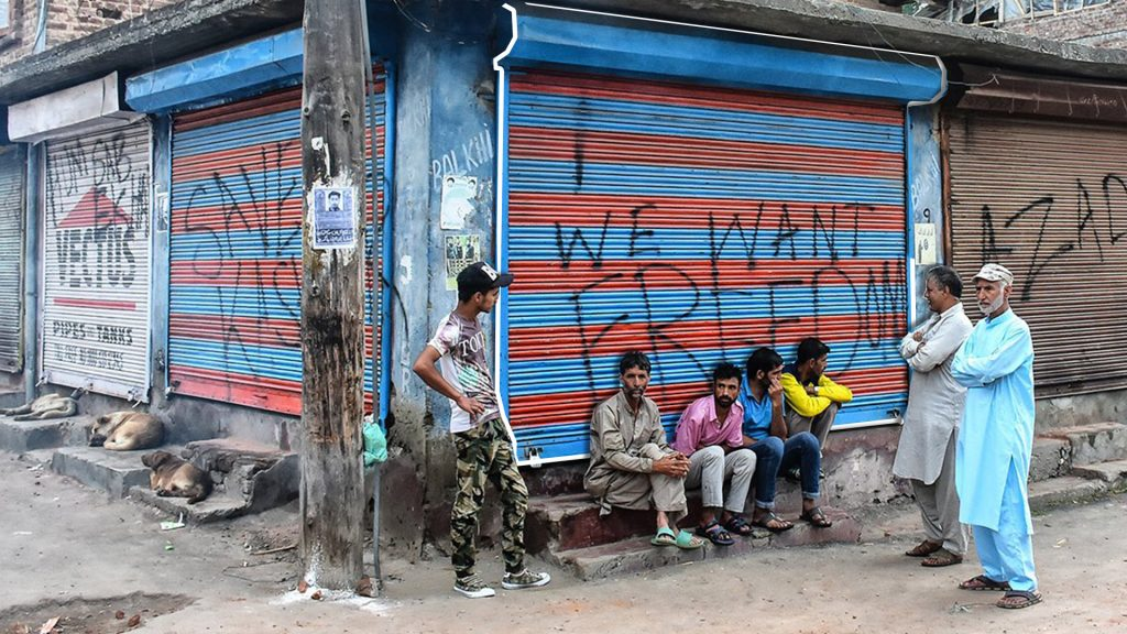 An average of about 20 protests per day against Indian rule have taken place in Indian administered Kashmir in the first six weeks despite a security lockdown imposed by India to put down the unrest after August 5.