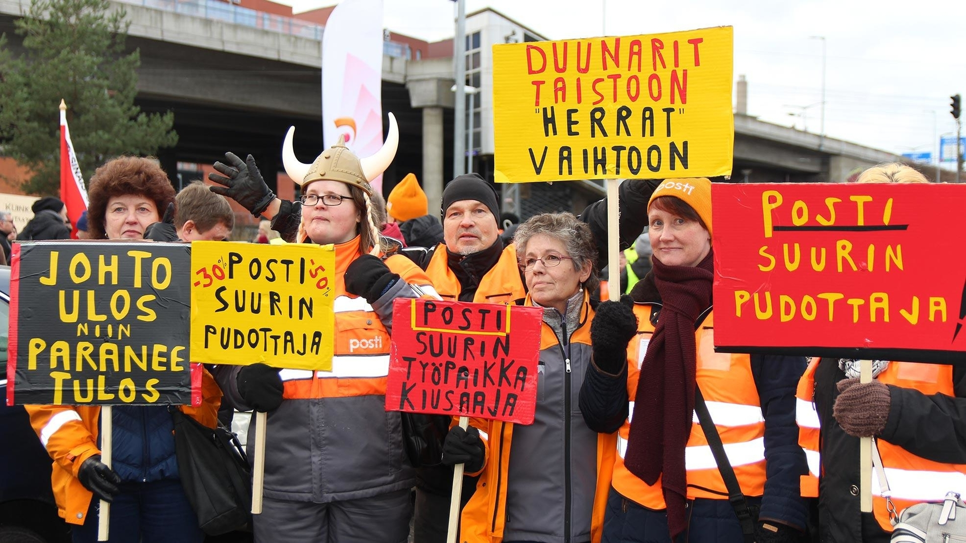Finland postal workers