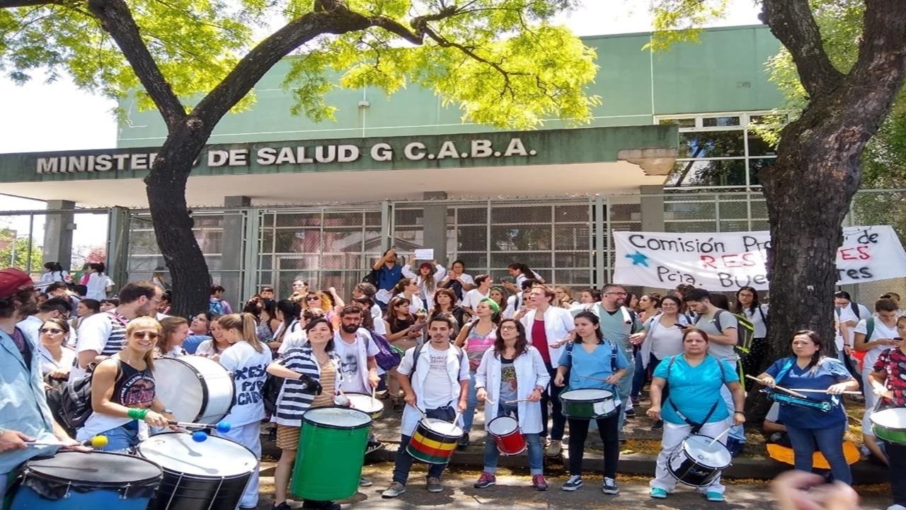 Argentina medicos protest