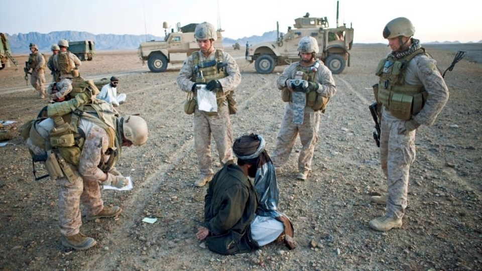 US war in Afghanistan