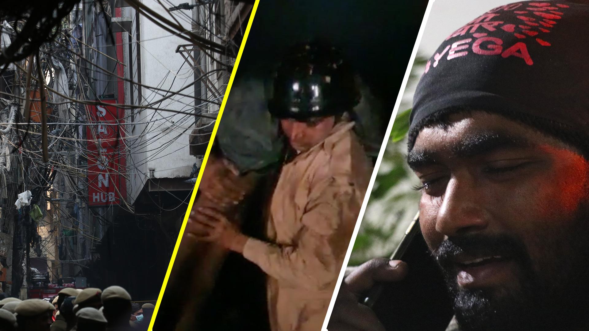Delhi factory fire kills 43 workers.