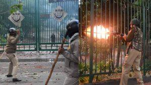 Delhi police brutality and repression