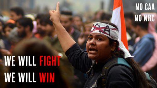 NO CAB_CAA_ NO NRC_All India protest_
