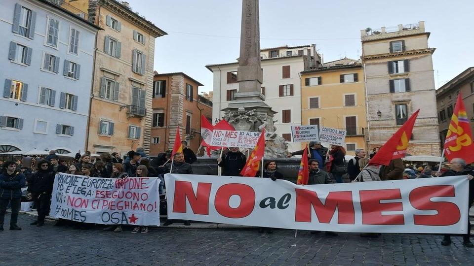 Workers' protest Italy