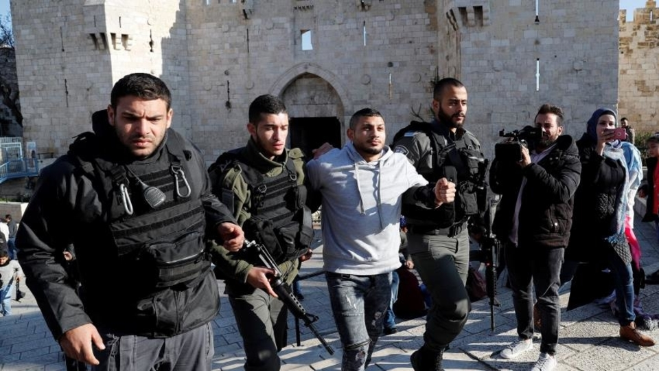 Palestinian arrests