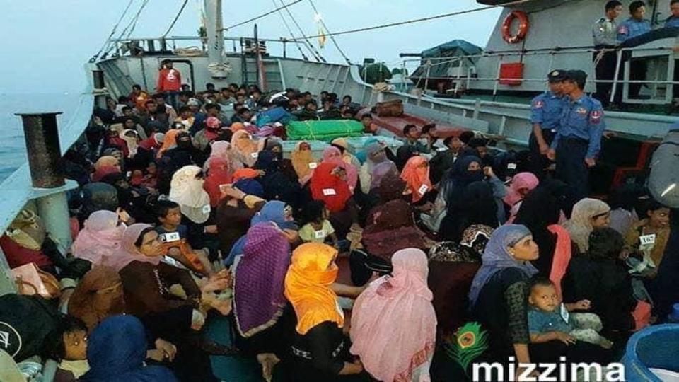 Rohingyas arrested