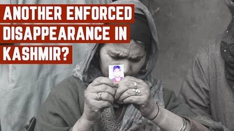 Kashmir enforced disapperance