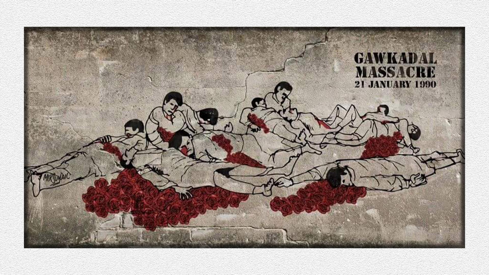 Gawkadal massacre_ Artist_ Mir Suhail