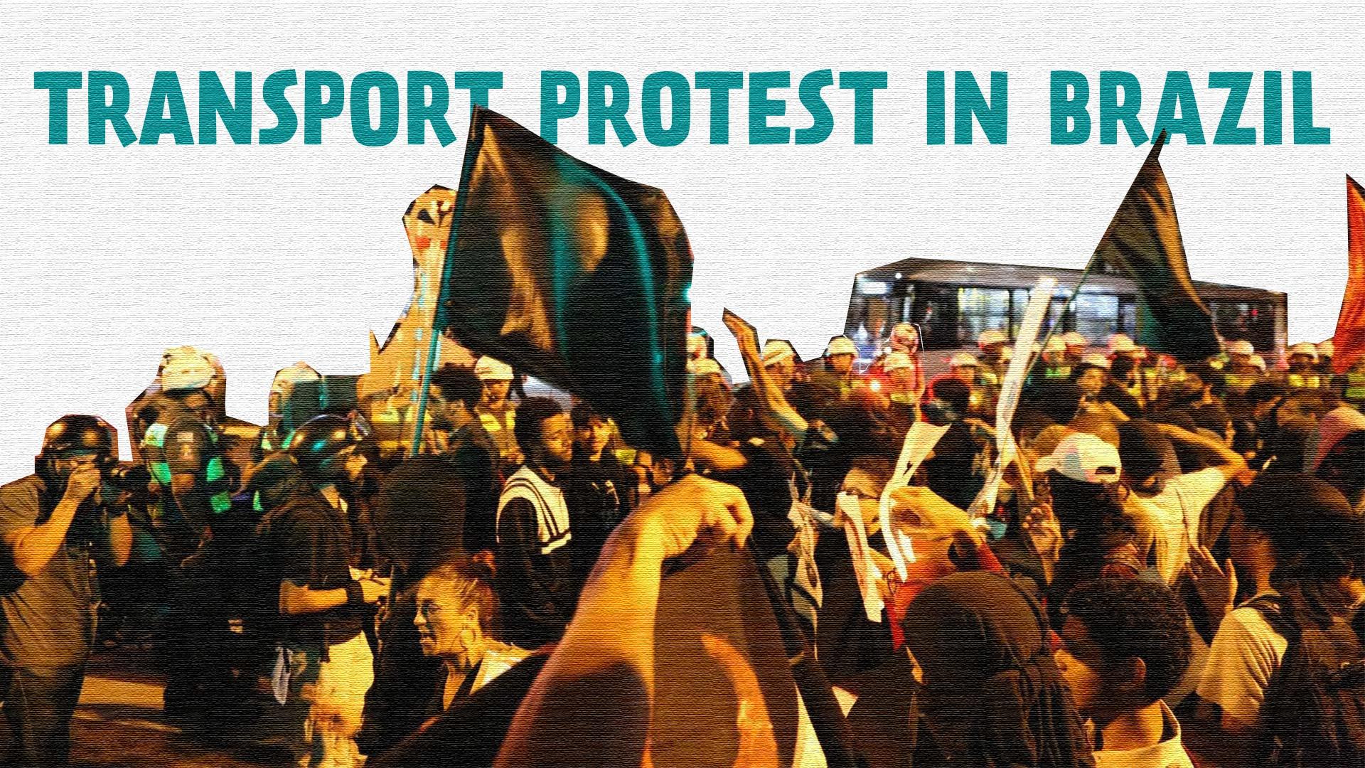 TRANSPORT PROTEST IN BRAZIL