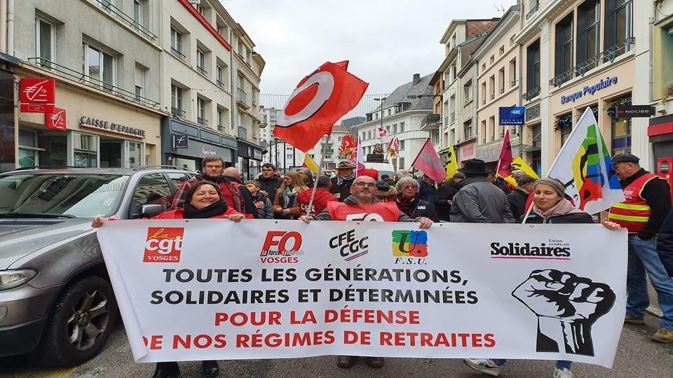Pension reforms France
