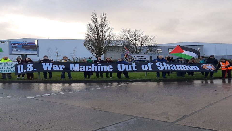 Shannon airport Ireland