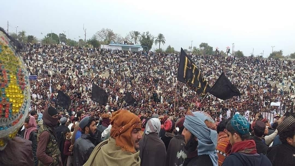 PTM gathering Pakistan