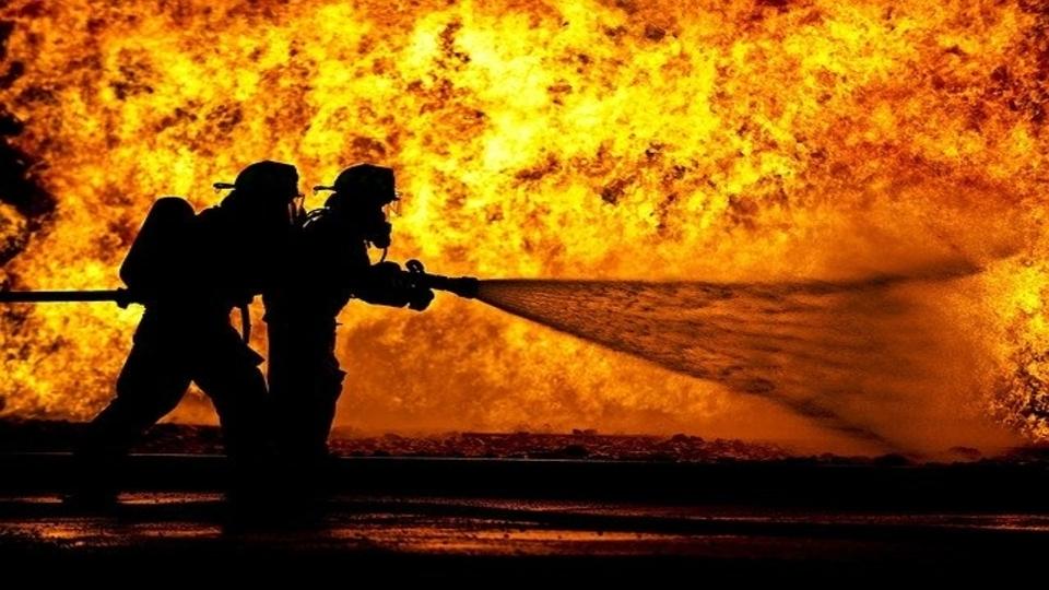 Bulgarian firefighters