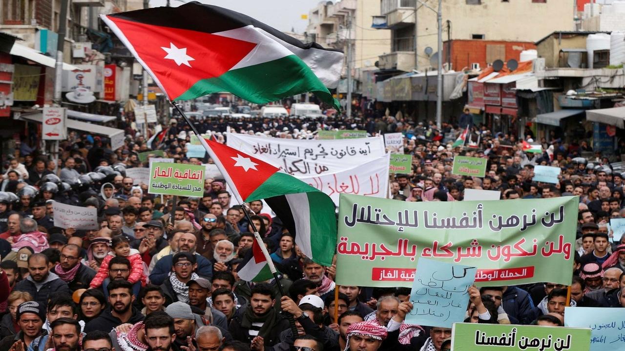 Israel-Jordan gas supply