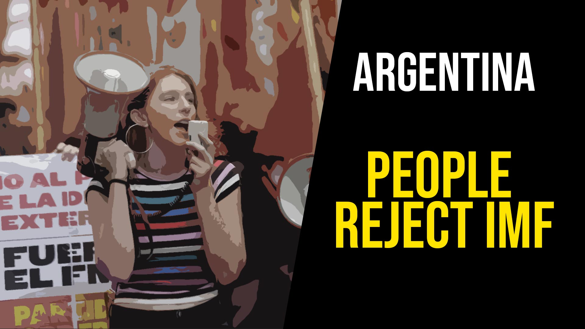 Argentina_People reject IMF