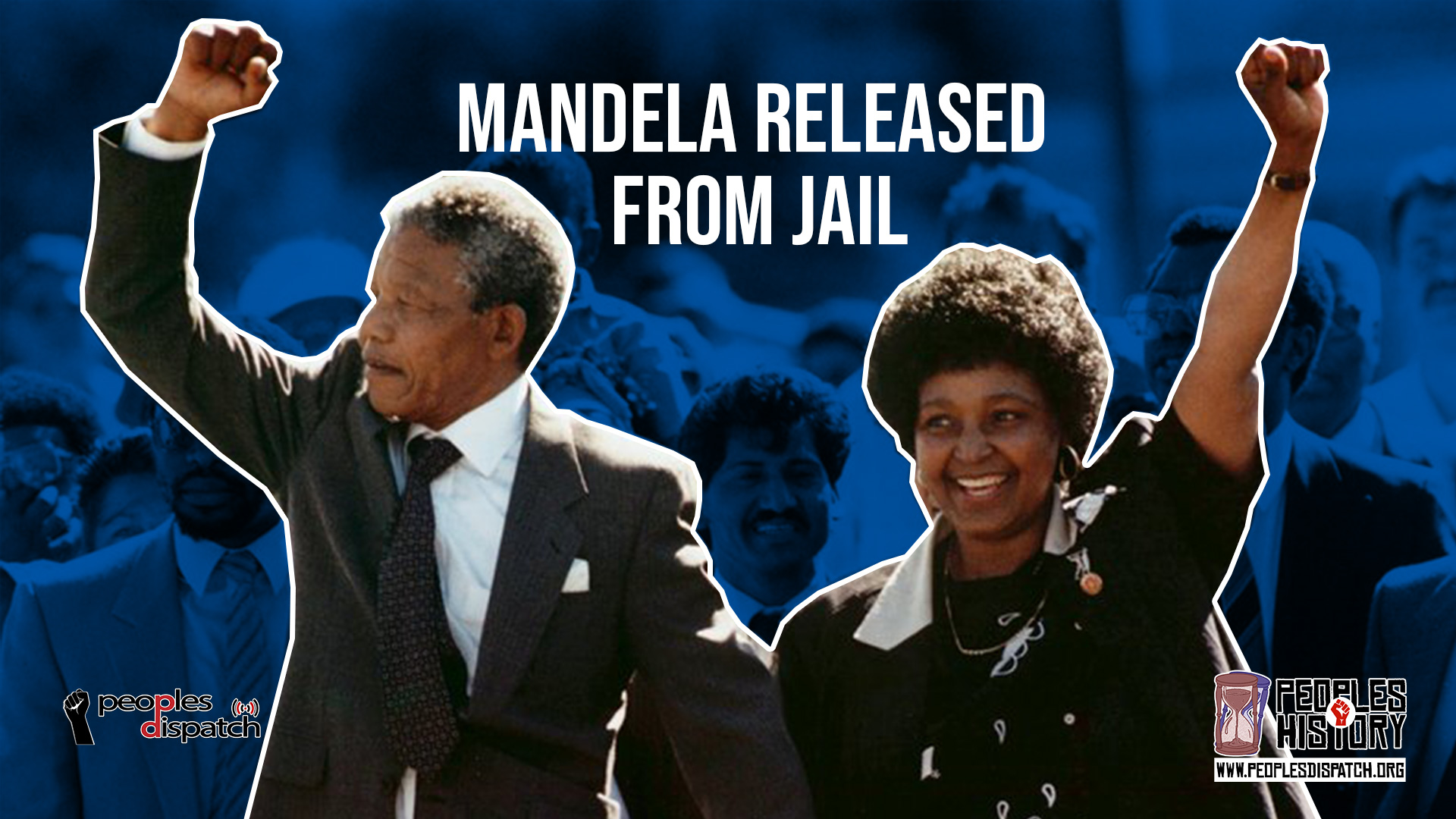 Mandela released from jail_