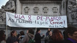 Portugal women's protest against femicide_violence against women