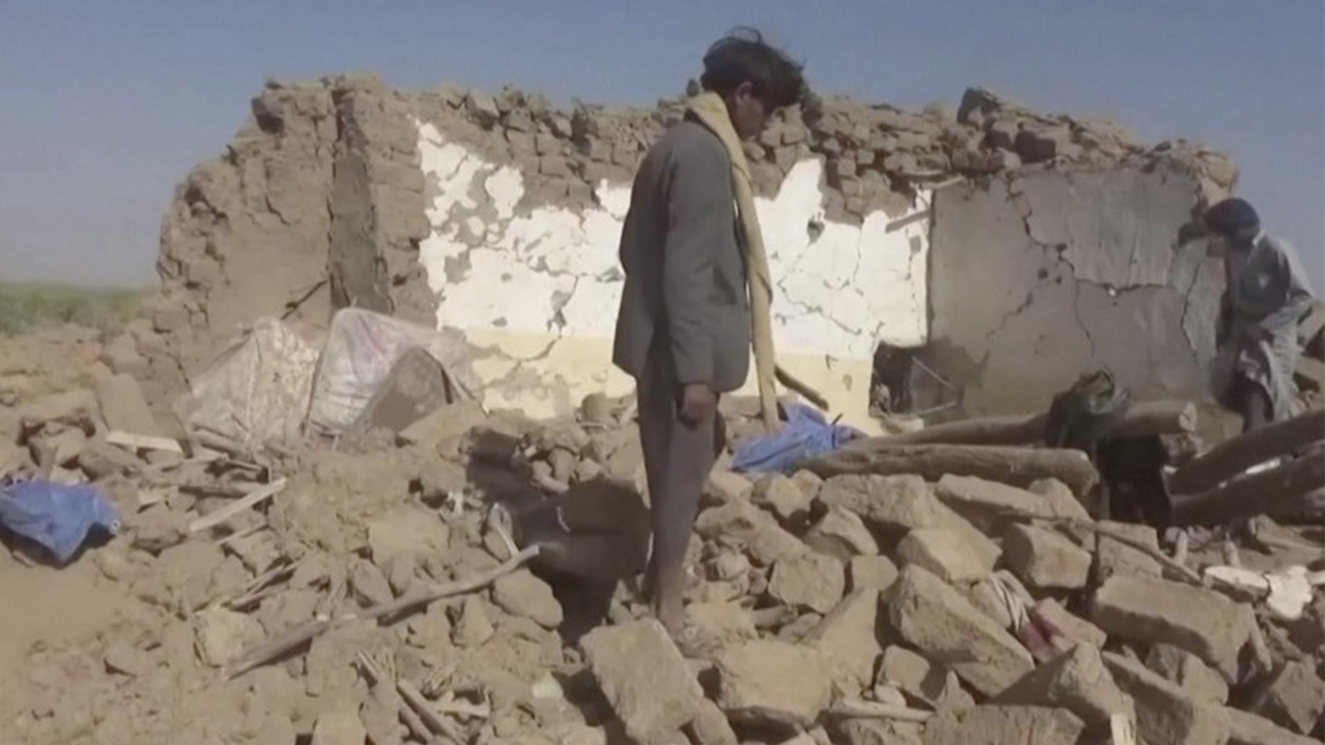 Saudi bombing in Yemen