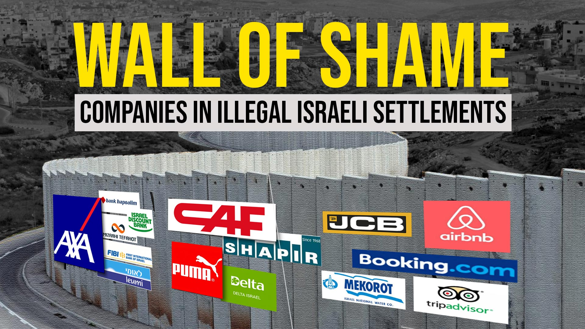 UN names and shames 112 companies operating in illegal Israeli settlements_