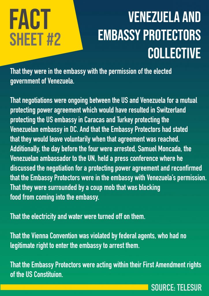 Venezuela and Embassy Protectors Collective_Fact sheet2