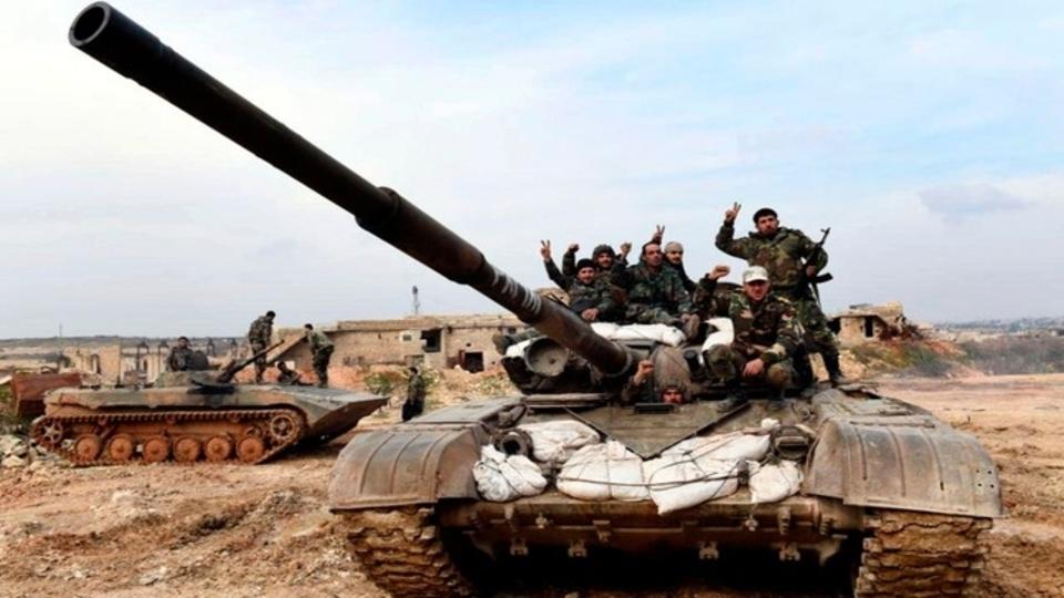 Syrian govt forces Idlib