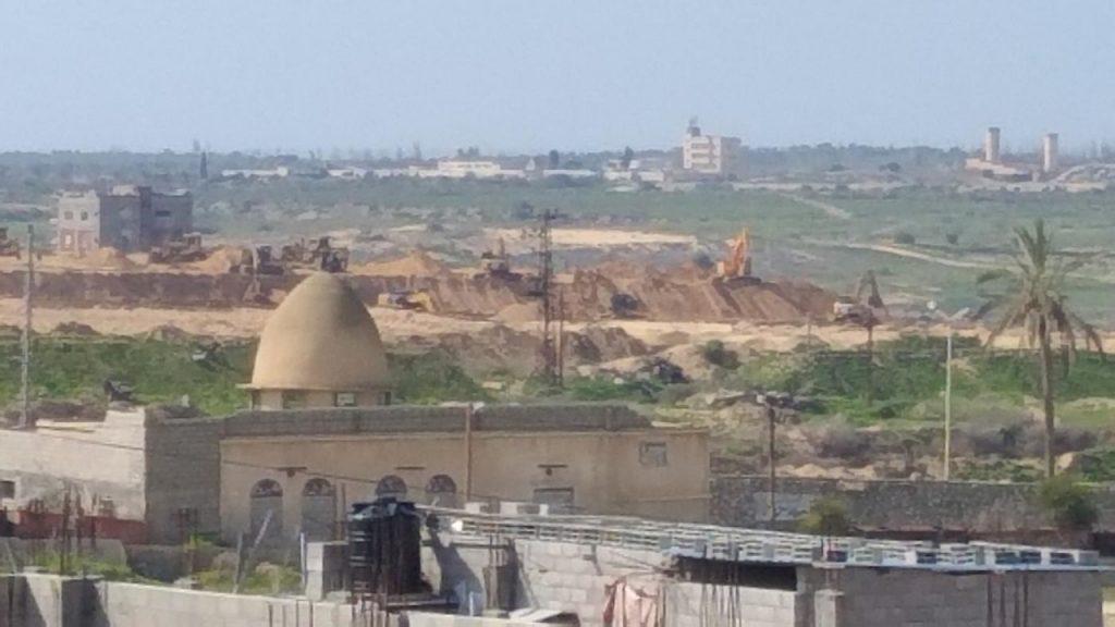 Egypt Gaza border wall