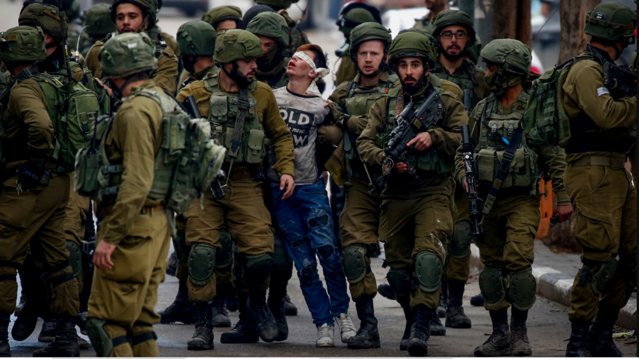 Palestinian minor prisoners