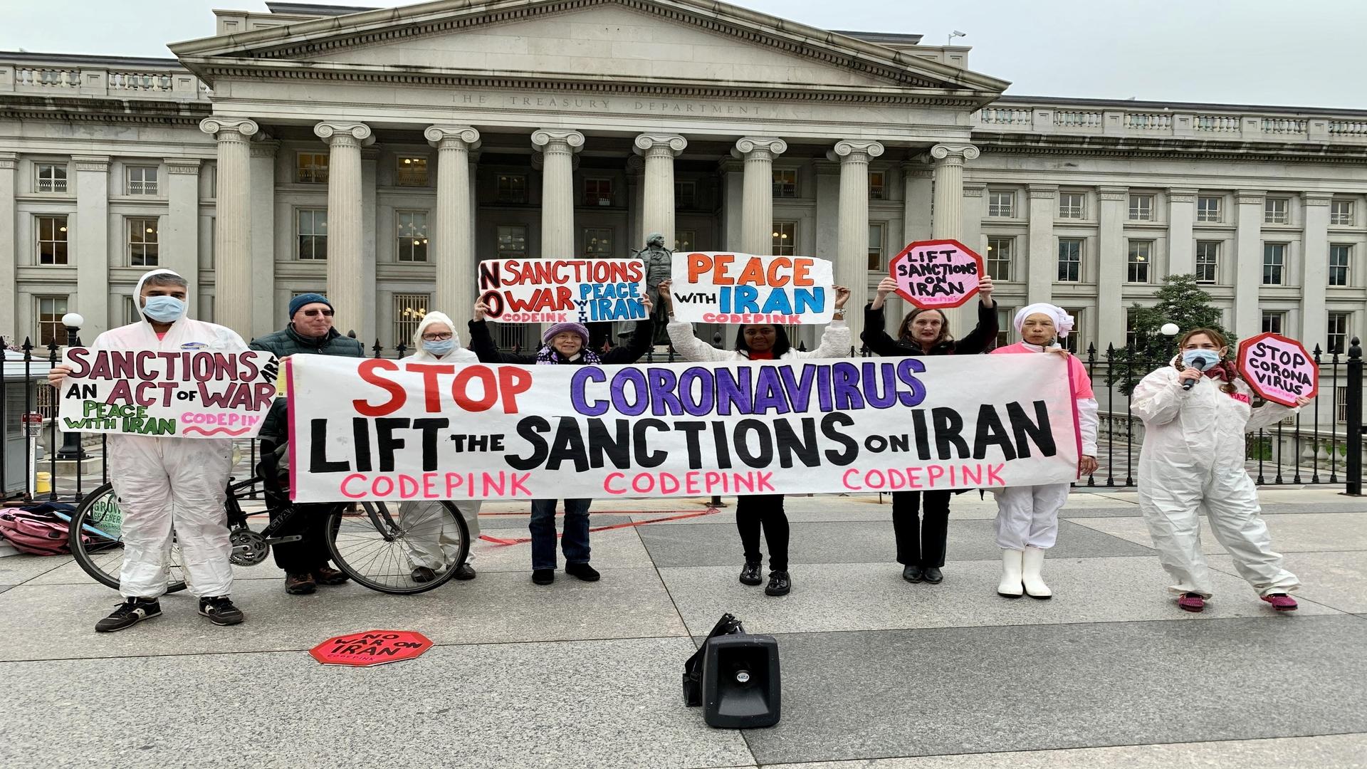Code Pink sanctions